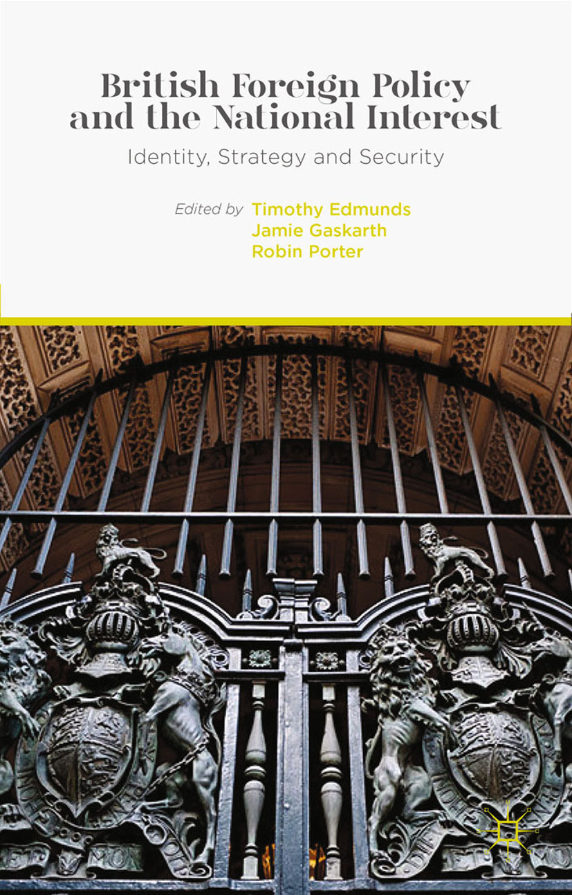 Edmunds, Timothy - British Foreign Policy and the National Interest, ebook