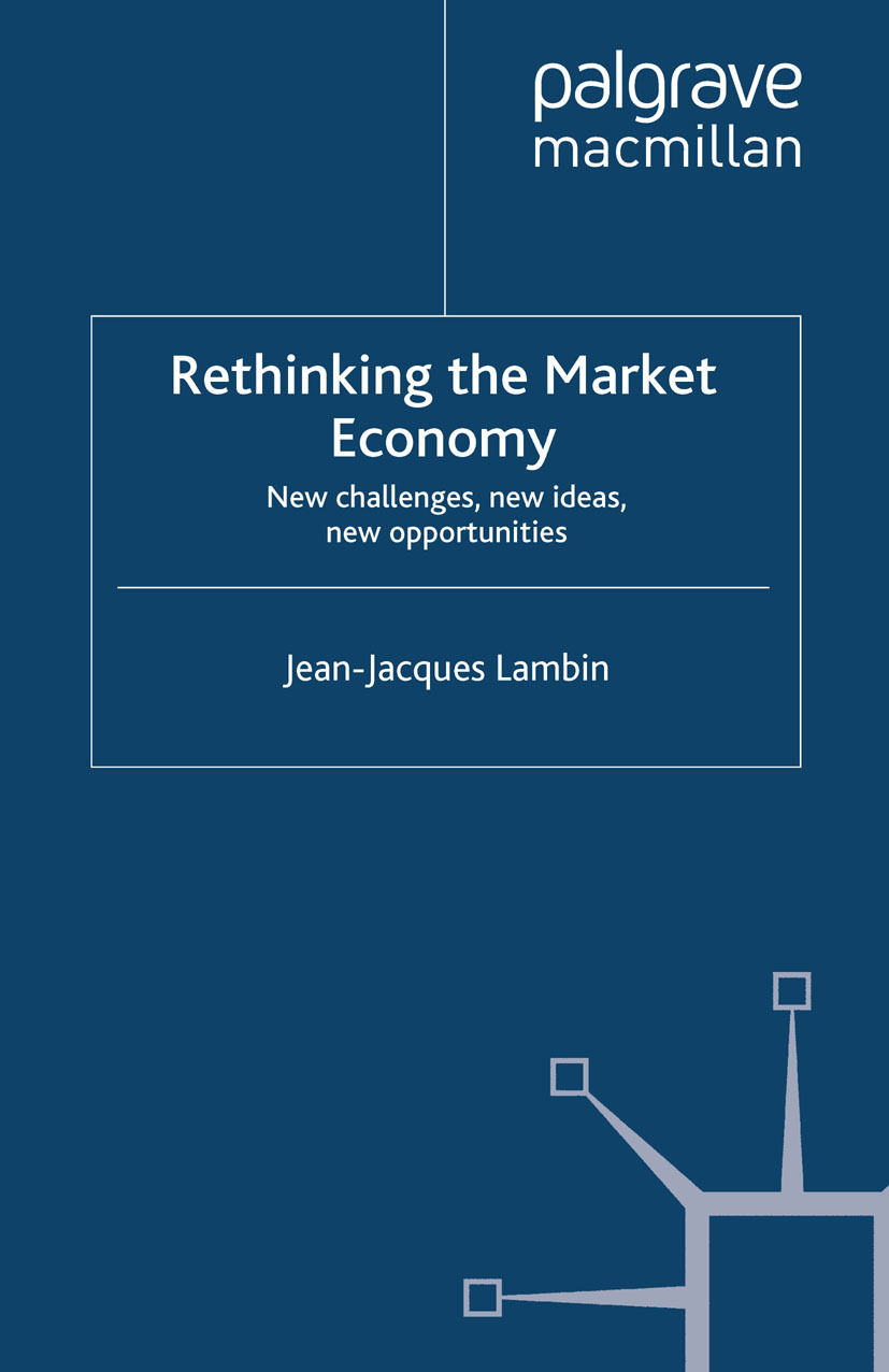 Lambin, Jean-Jacques - Rethinking the Market Economy, ebook
