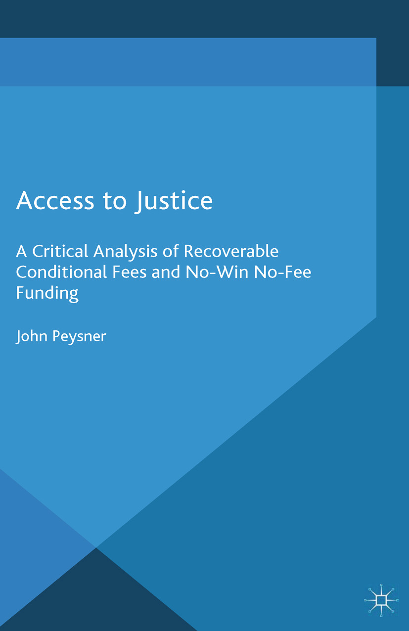 Peysner, John - Access to Justice, ebook