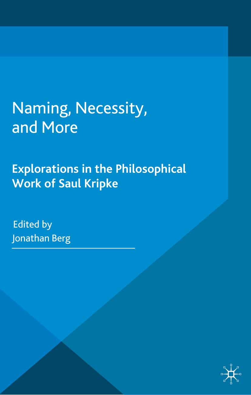Berg, Jonathan - Naming, Necessity, and More, ebook
