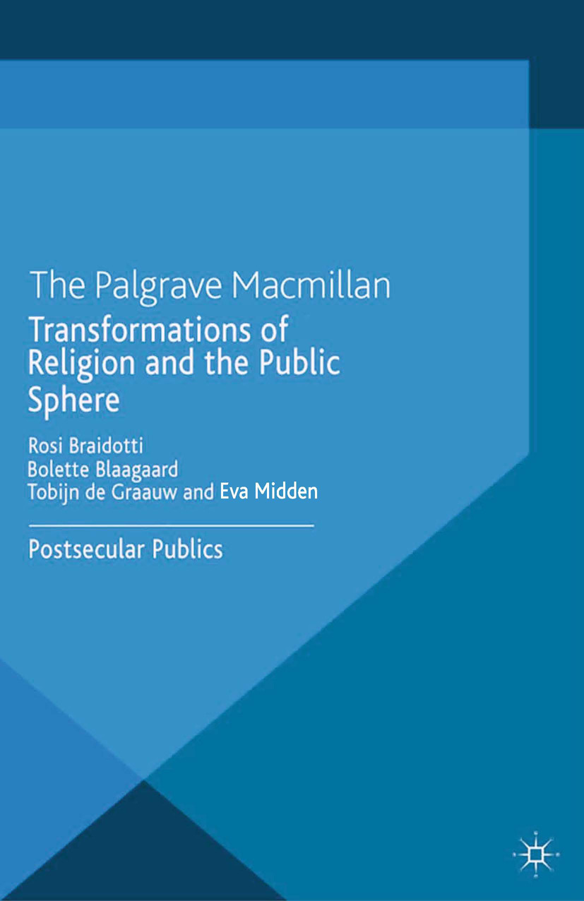 Blaagaard, Bolette - Transformations of Religion and the Public Sphere, ebook