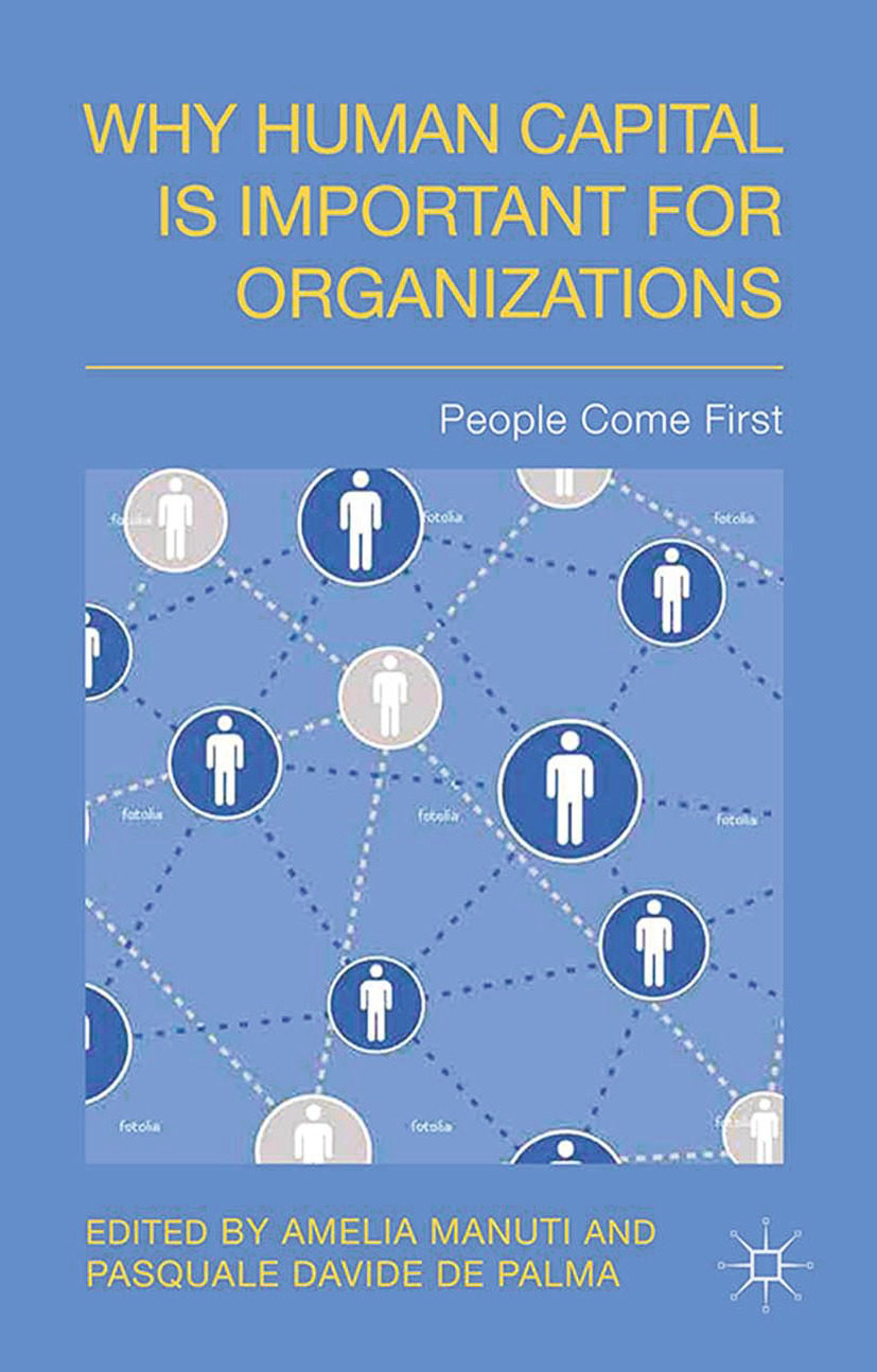Manuti, Amelia - Why Human Capital is Important for Organizations, ebook