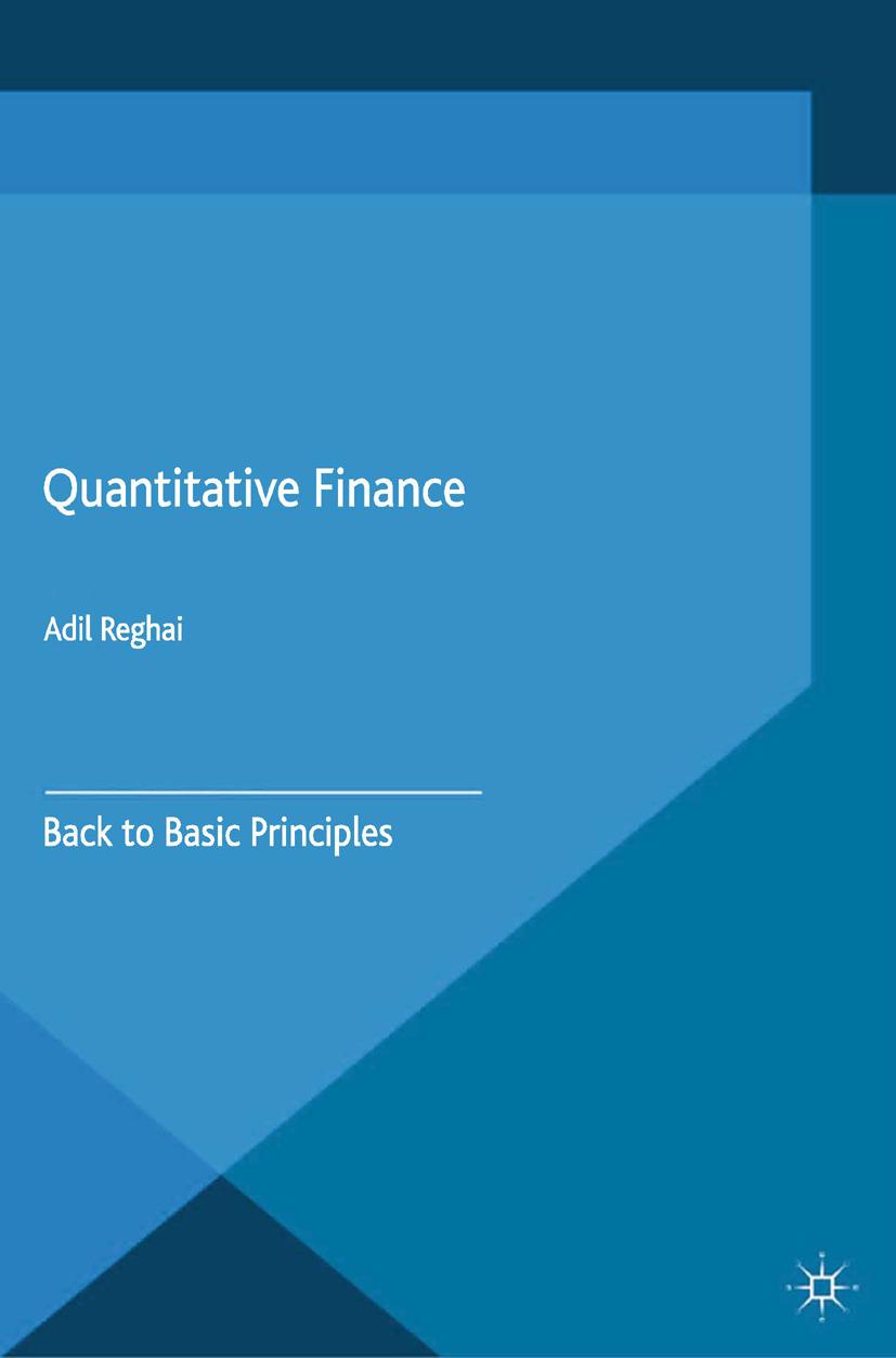 Reghai, Adil - Quantitative Finance, ebook