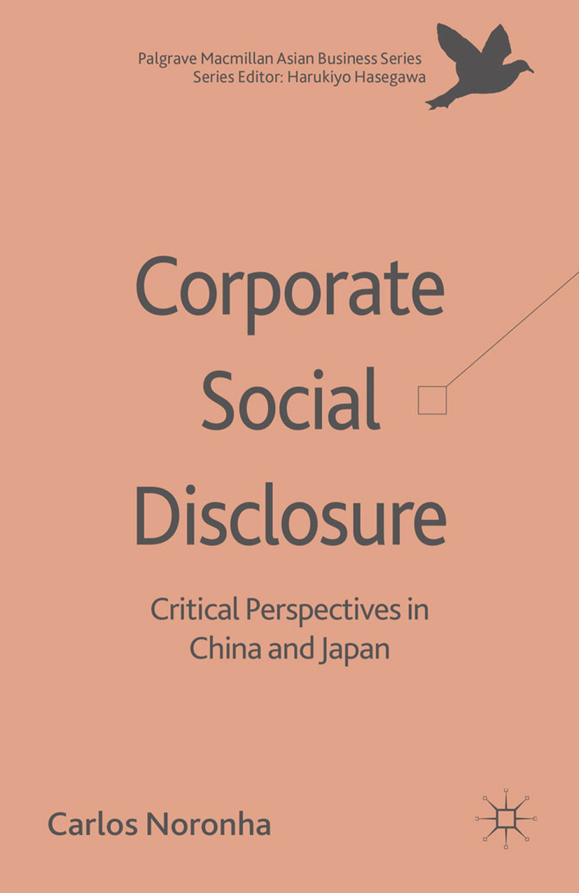 Noronha, Carlos - Corporate Social Disclosure, ebook