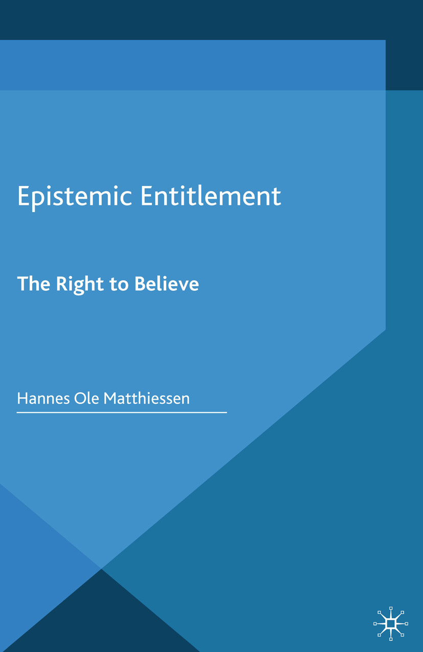 Matthiessen, Hannes Ole - Epistemic Entitlement, ebook