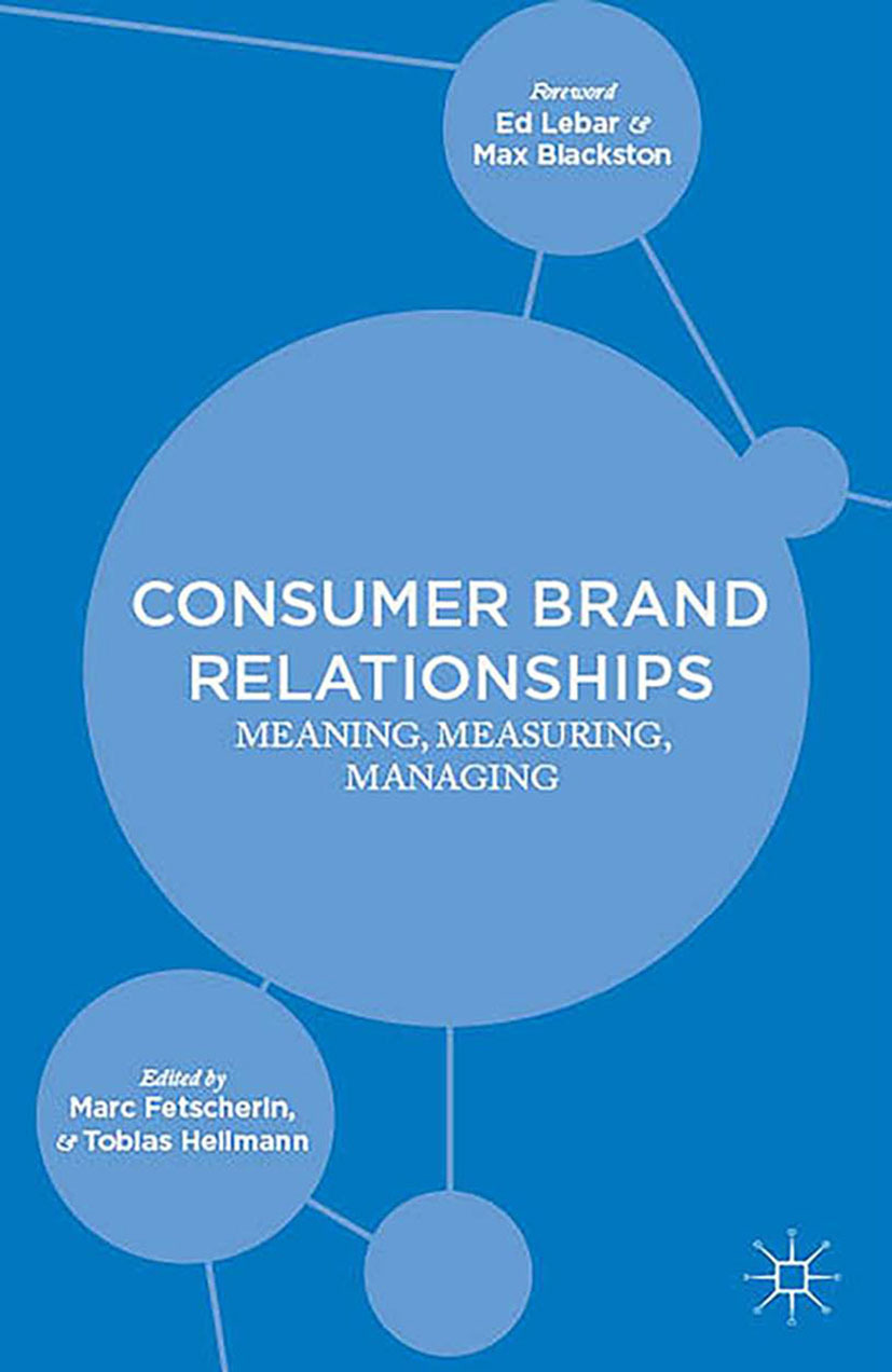 Fetscherin, Marc - Consumer Brand Relationships, ebook