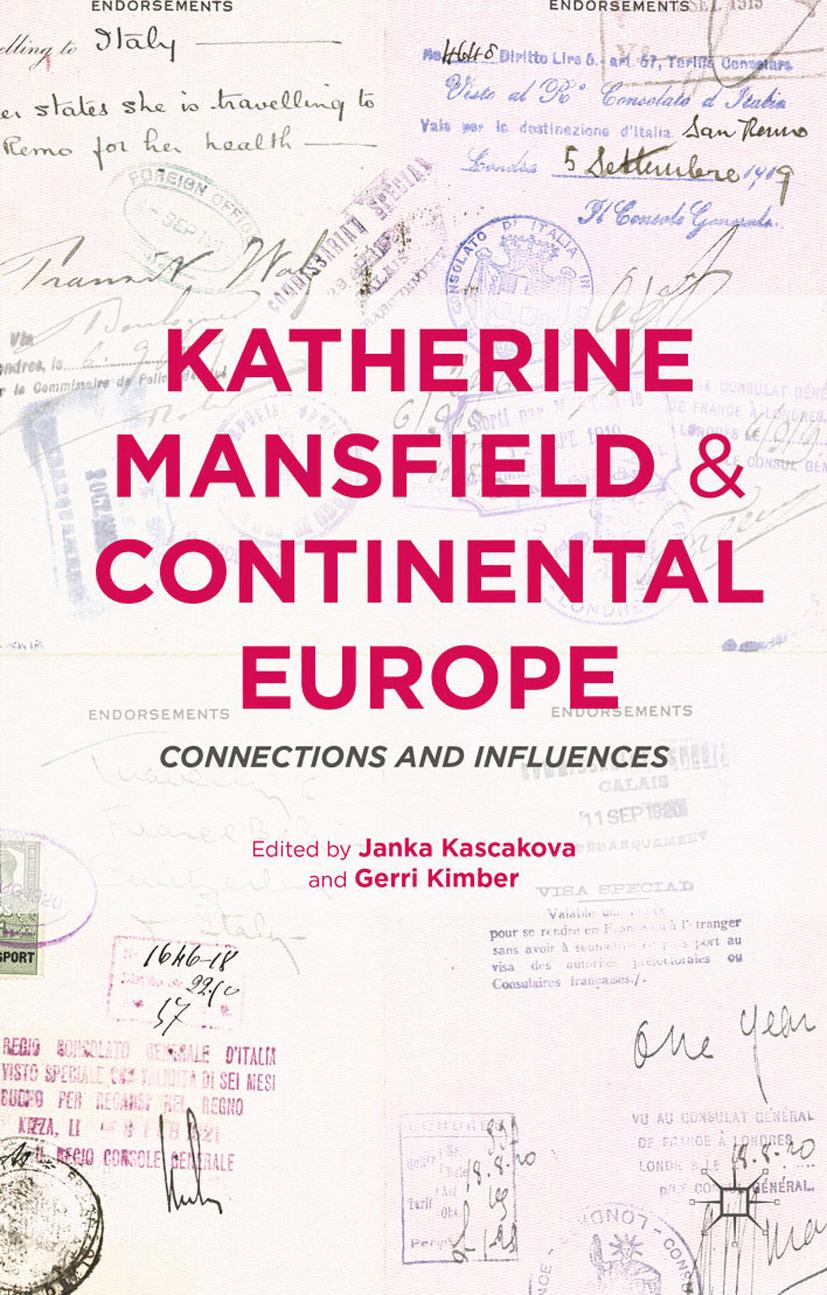 Kascakova, Janka - Katherine Mansfield and Continental Europe, ebook