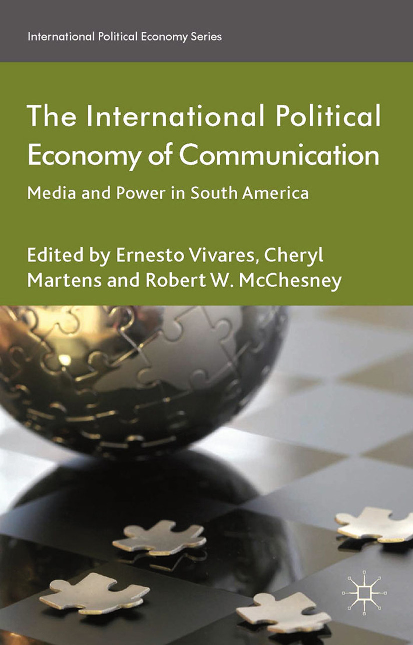 Martens, Cheryl - The International Political Economy of Communication, ebook