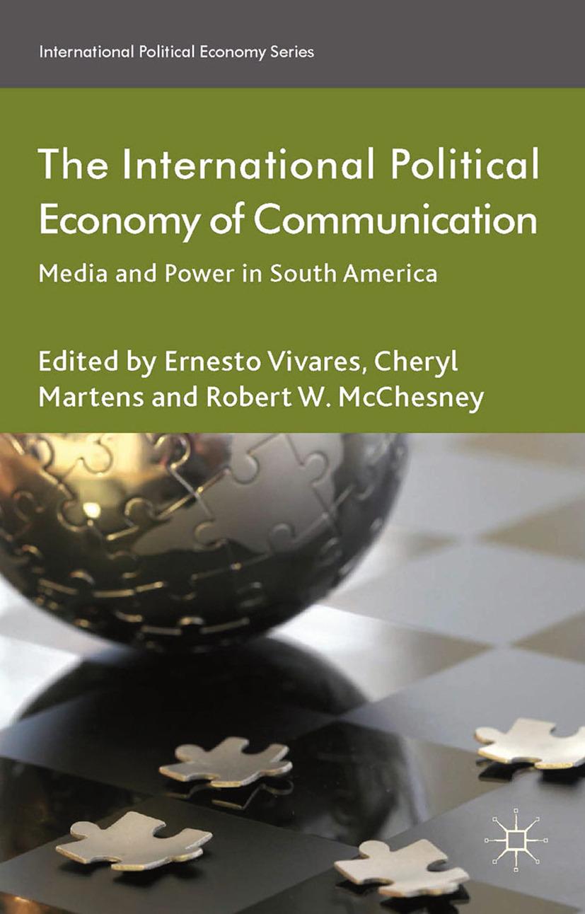 Martens, Cheryl - The International Political Economy of Communication, ebook