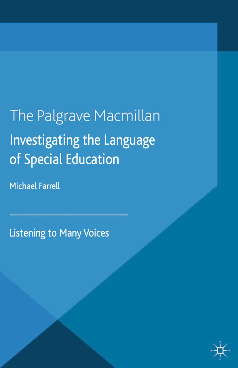 Farrell, Michael - Investigating the Language of Special Education, ebook