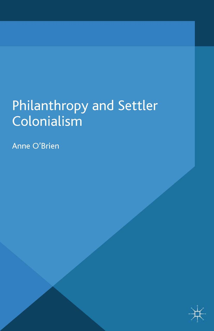 O'Brien, Anne - Philanthropy and Settler Colonialism, ebook