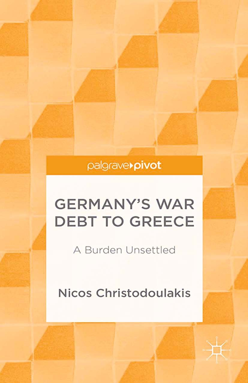 Christodoulakis, Nicos - Germany's War Debt to Greece: A Burden Unsettled, ebook