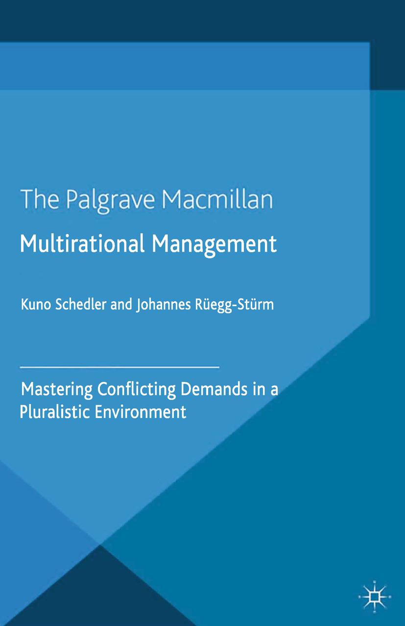 Rüegg-Stürm, Johannes - Multirational Management, ebook