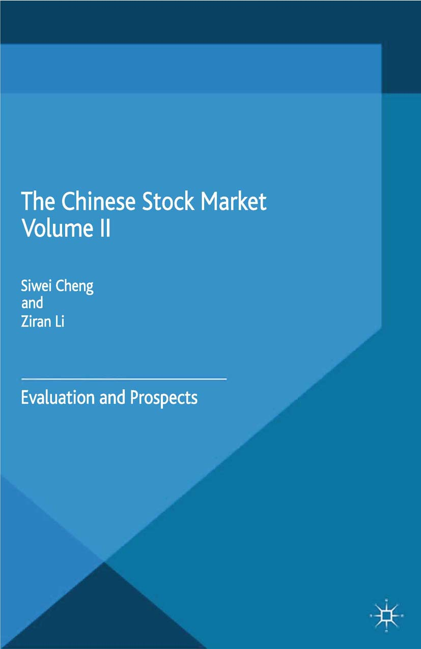 Cheng, Siwei - The Chinese Stock Market Volume II, ebook
