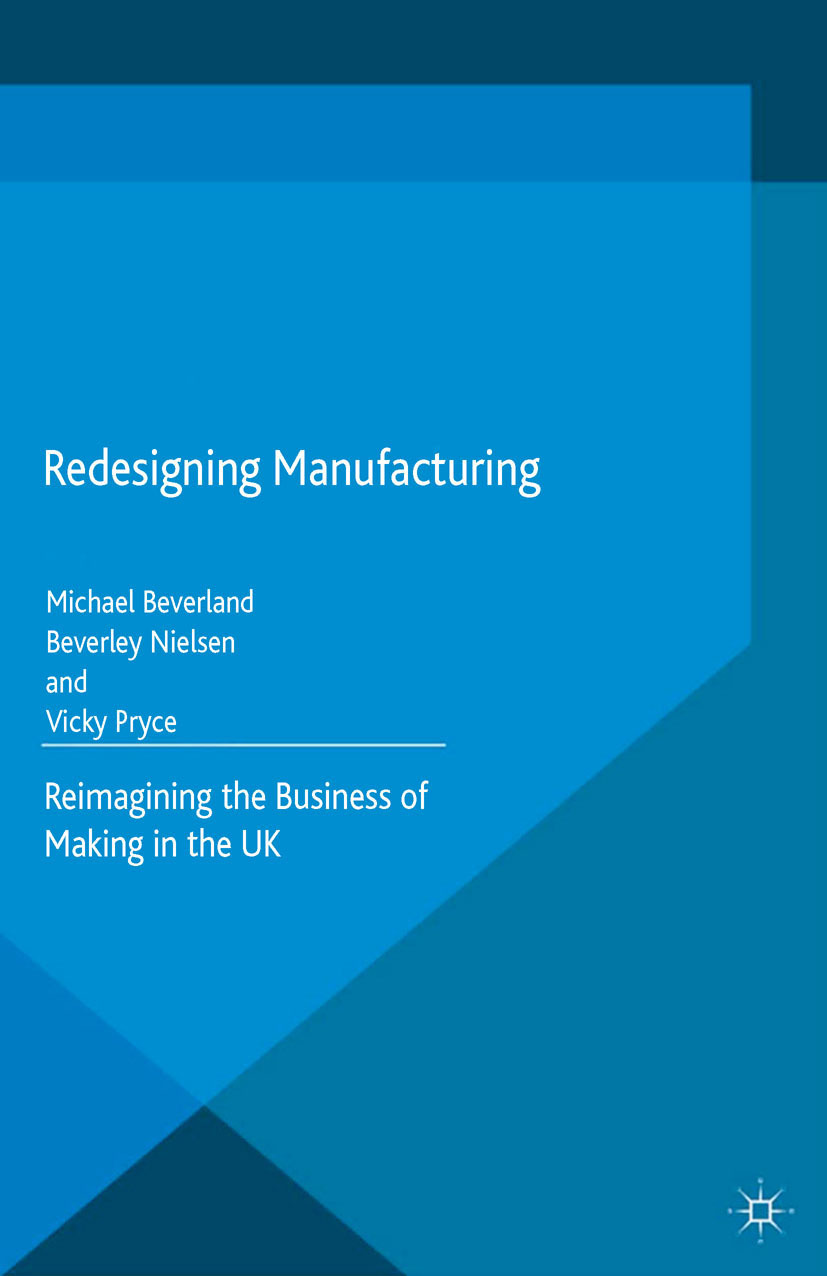 Beverland, Michael - Redesigning Manufacturing, ebook