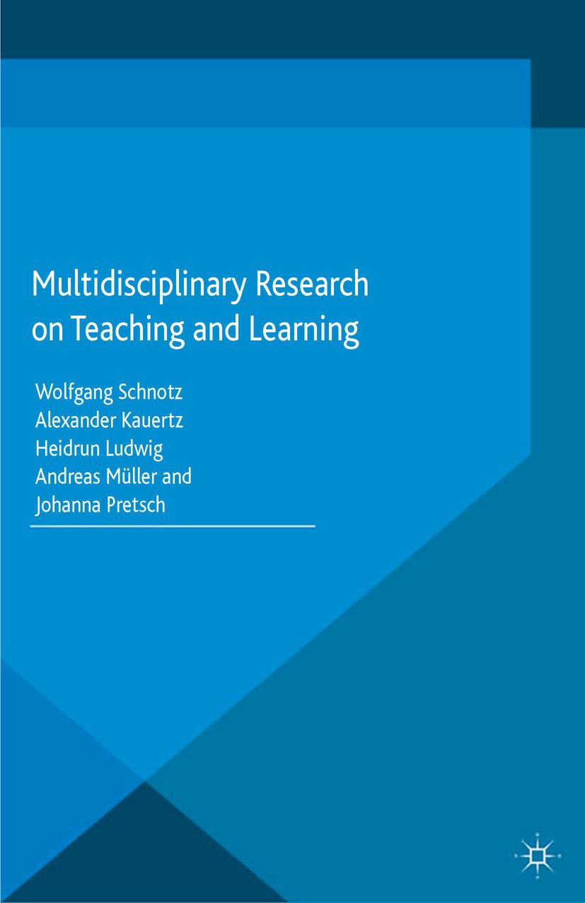 Kauertz, Alexander - Multidisciplinary Research on Teaching and Learning, ebook
