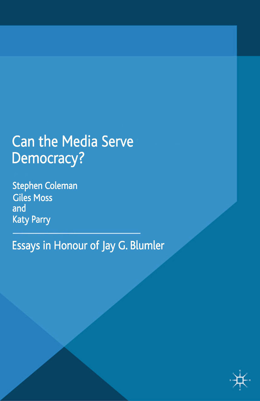 Coleman, Stephen - Can the Media Serve Democracy?, ebook
