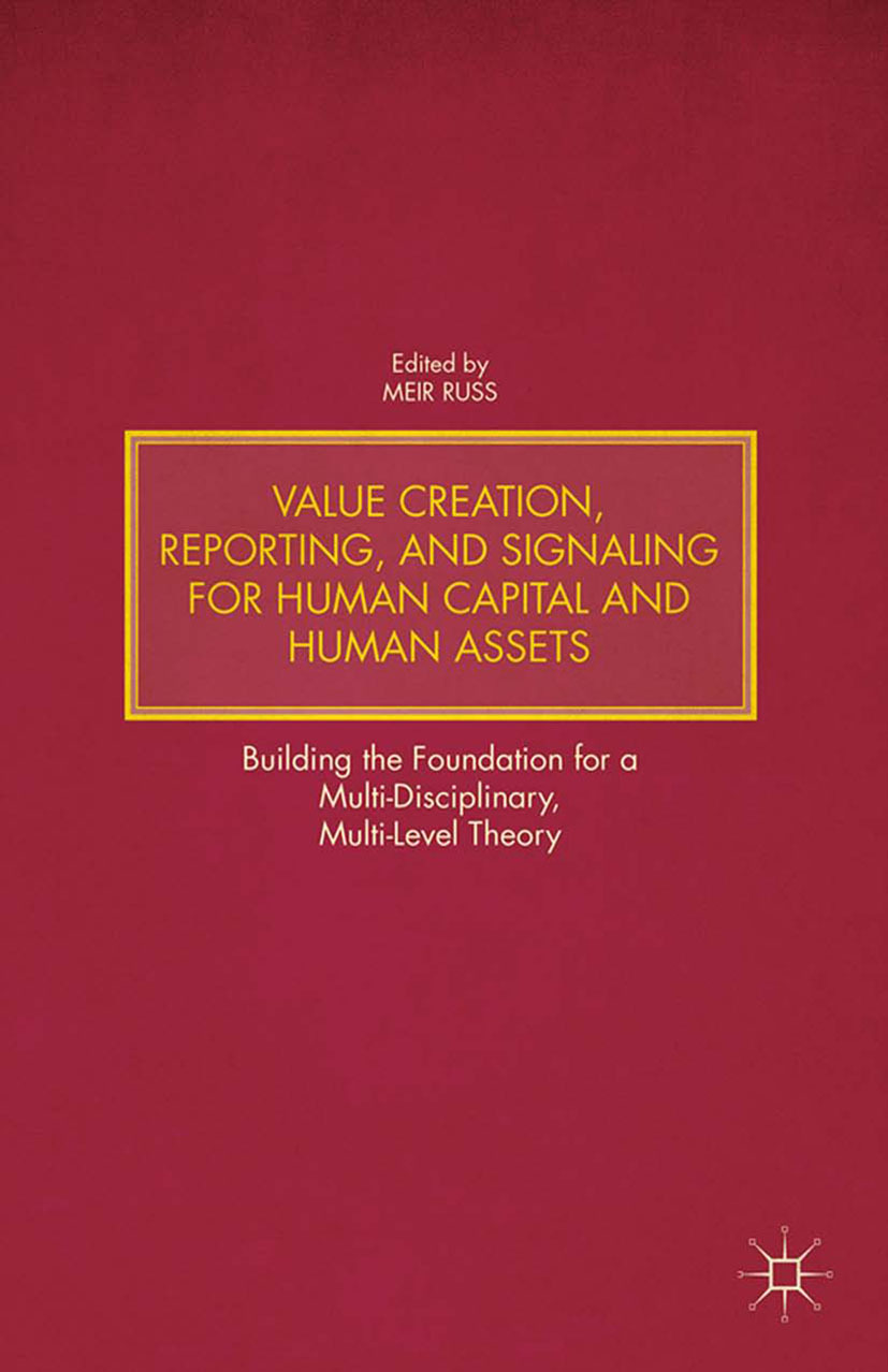 Russ, Meir - Value Creation, Reporting, and Signaling for Human Capital and Human Assets, ebook