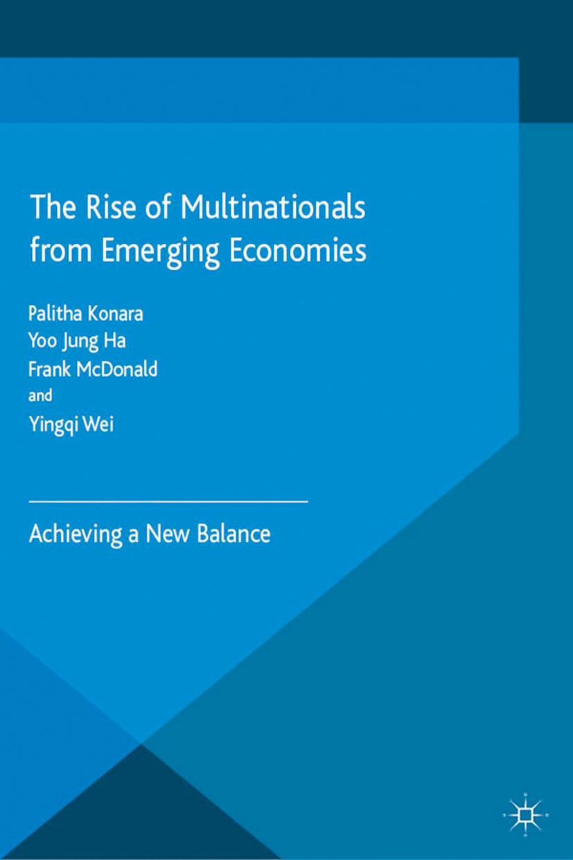 Ha, Yoo Jung - The Rise of Multinationals from Emerging Economies, ebook
