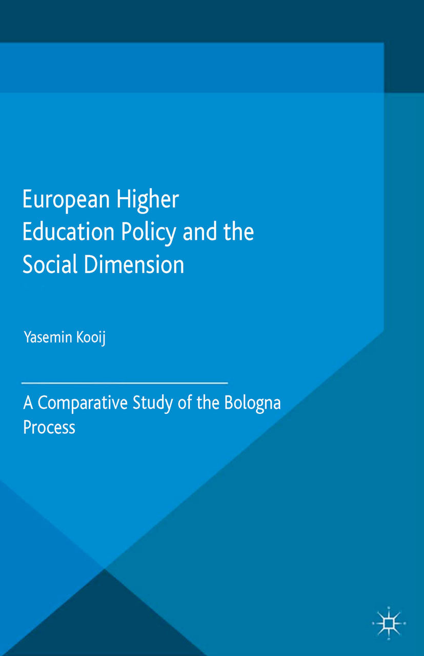 Kooij, Yasemin - European Higher Education Policy and the Social Dimension, ebook