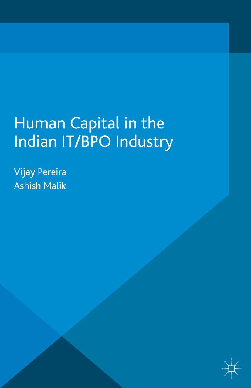 Malik, Ashish - Human Capital in the Indian IT/BPO Industry, ebook