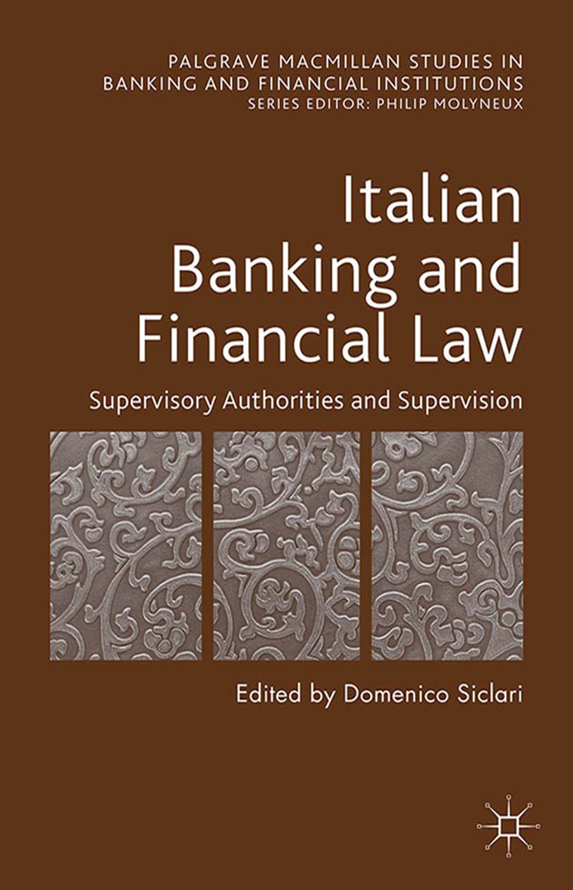 Siclari, Domenico - Italian Banking and Financial Law, ebook