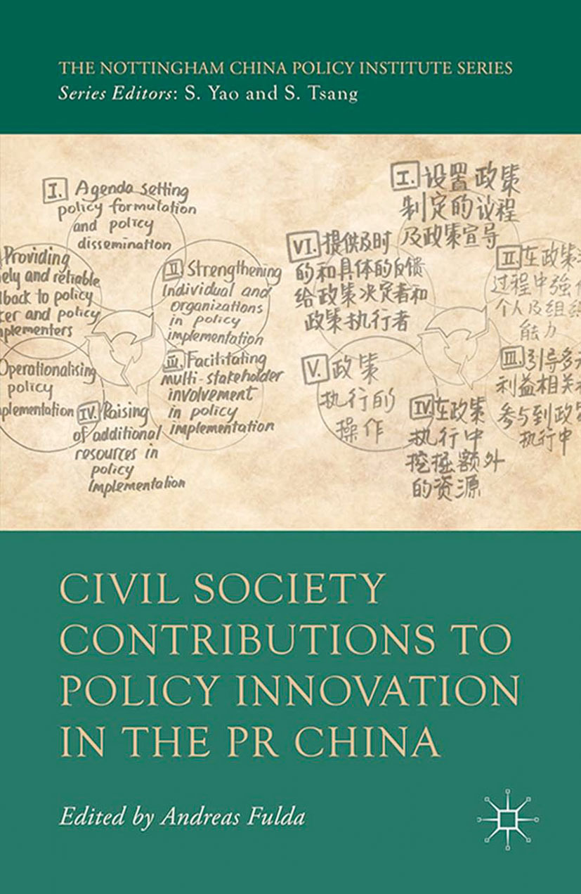 Fulda, Andreas - Civil Society Contributions to Policy Innovation in the PR China, ebook