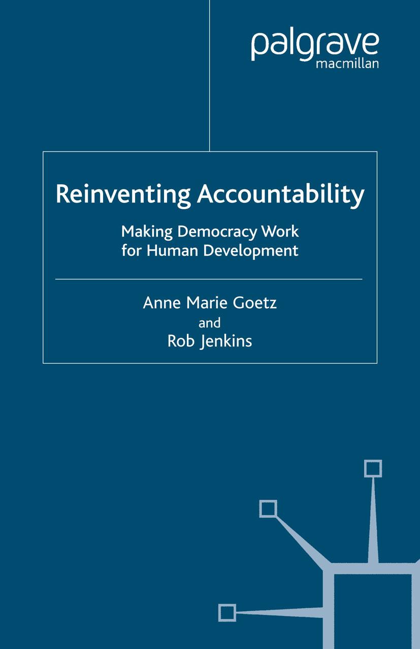 Goetz, Anne Marie - Reinventing Accountability, ebook