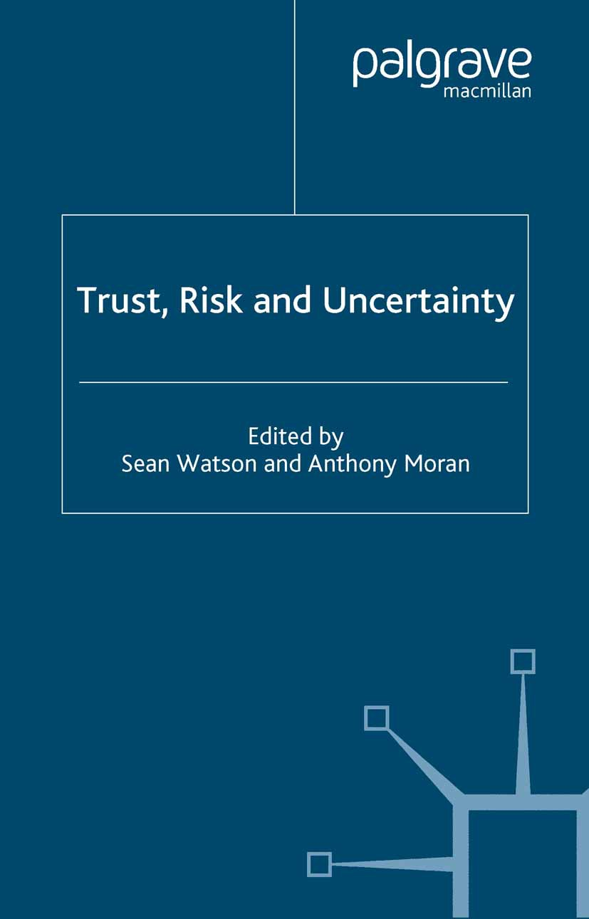 Moran, Anthony - Trust, Risk and Uncertainty, ebook