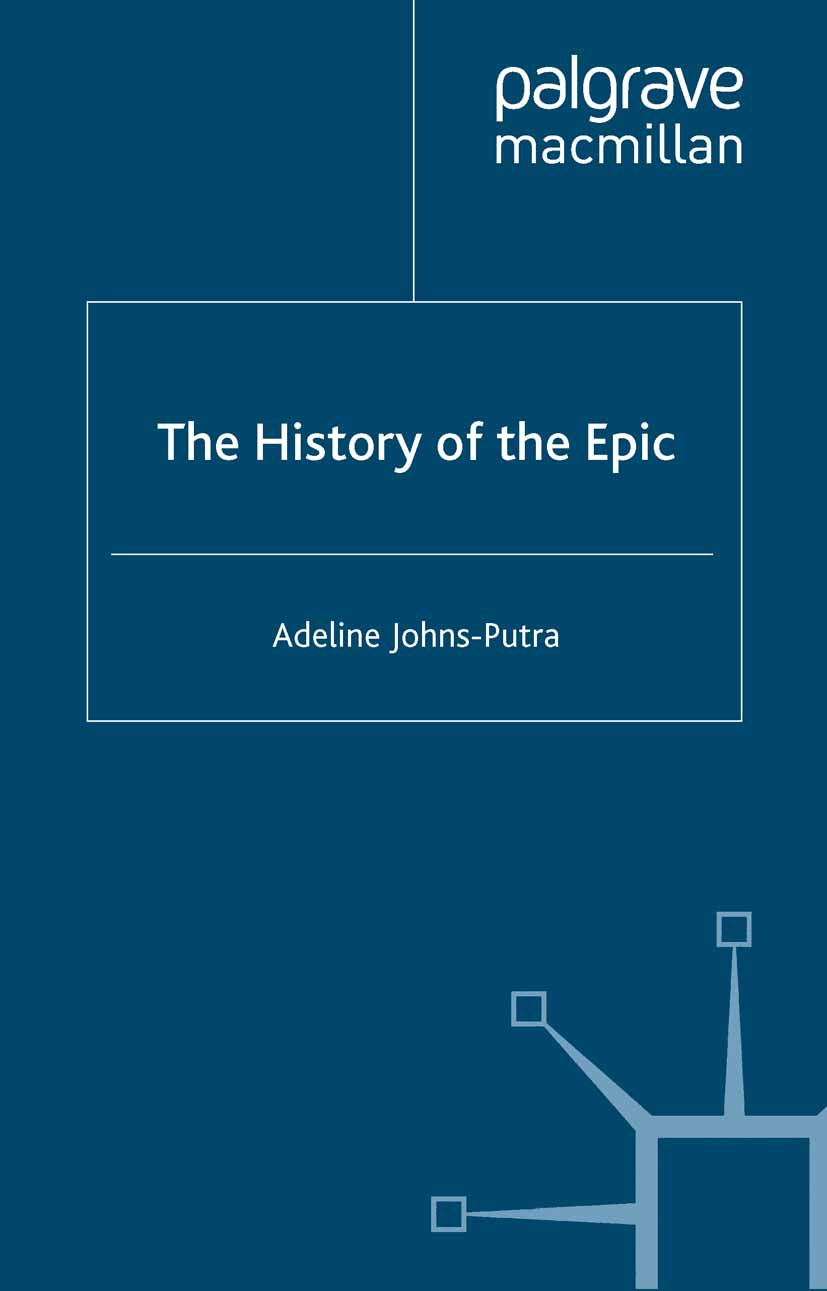 Johns-Putra, Adeline - The History of the Epic, ebook