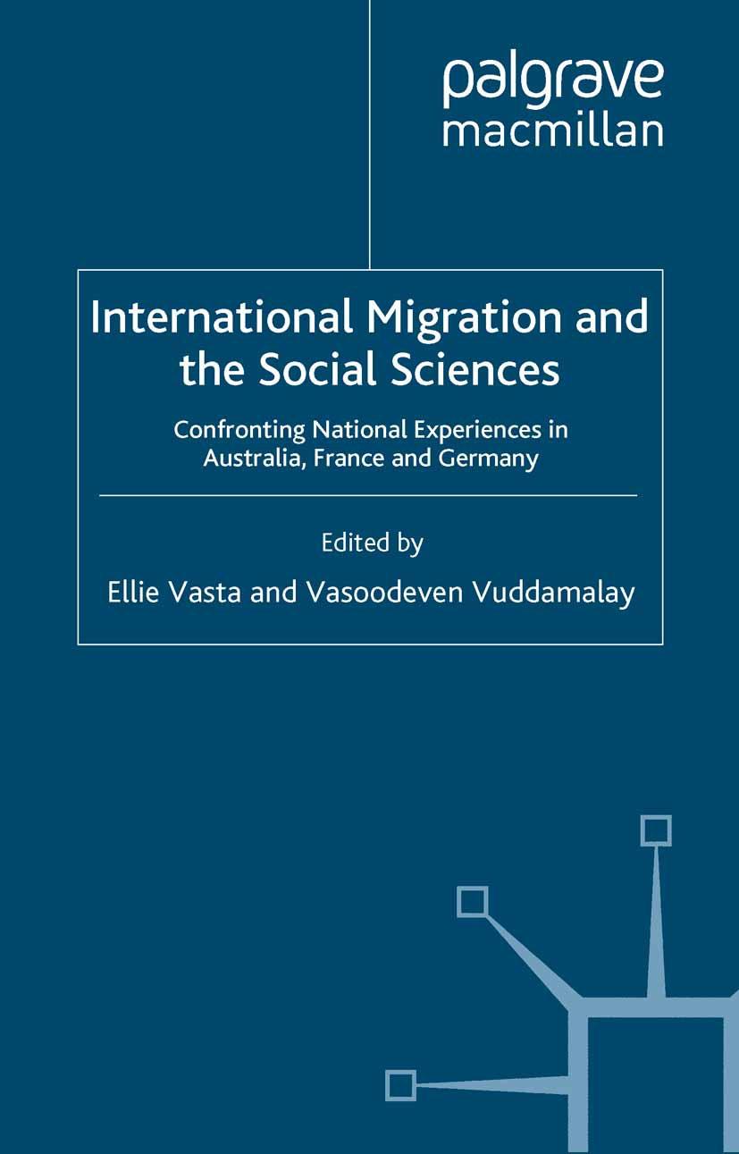 Vasta, Ellie - International Migration and the Social Sciences, ebook