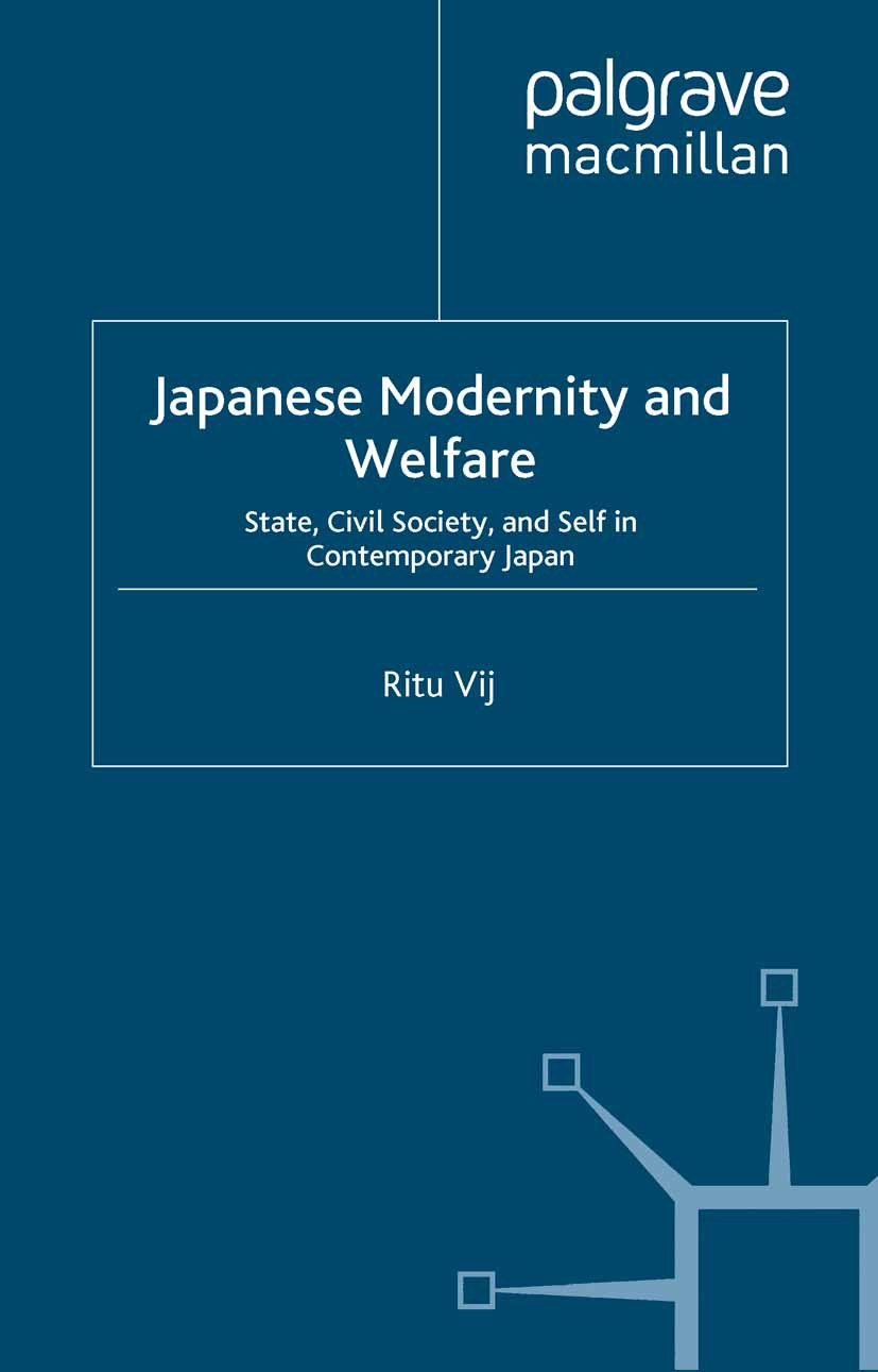 Vij, Ritu - Japanese Modernity and Welfare, ebook