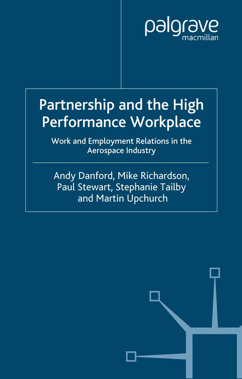 Danford, Andy - Partnership and the High Performance Workplace, ebook
