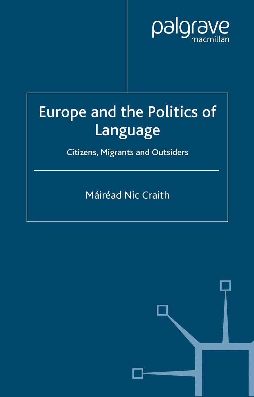 Craith, Máiréad Nic - Europe and the Politics of Language, ebook
