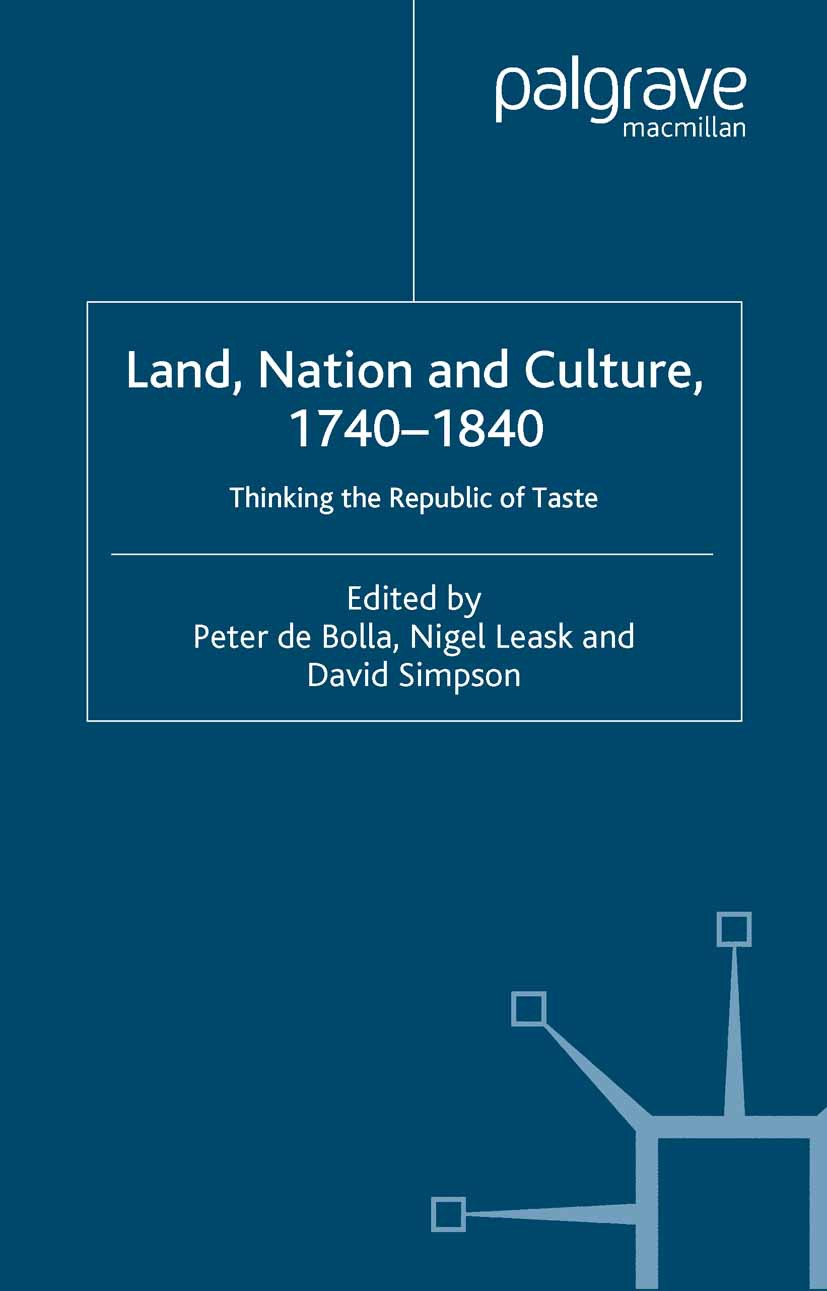 Bolla, Peter - Land, Nation and Culture, 1740–1840, ebook