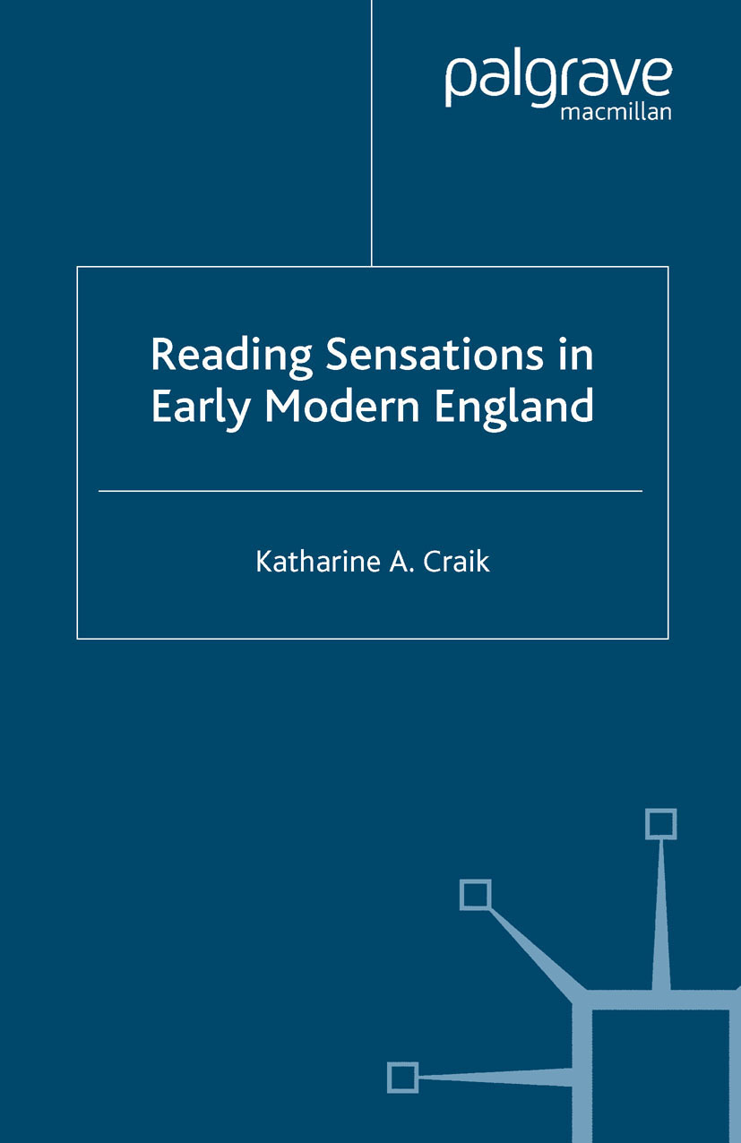 Craik, Katharine A. - Reading Sensations in Early Modern England, e-bok