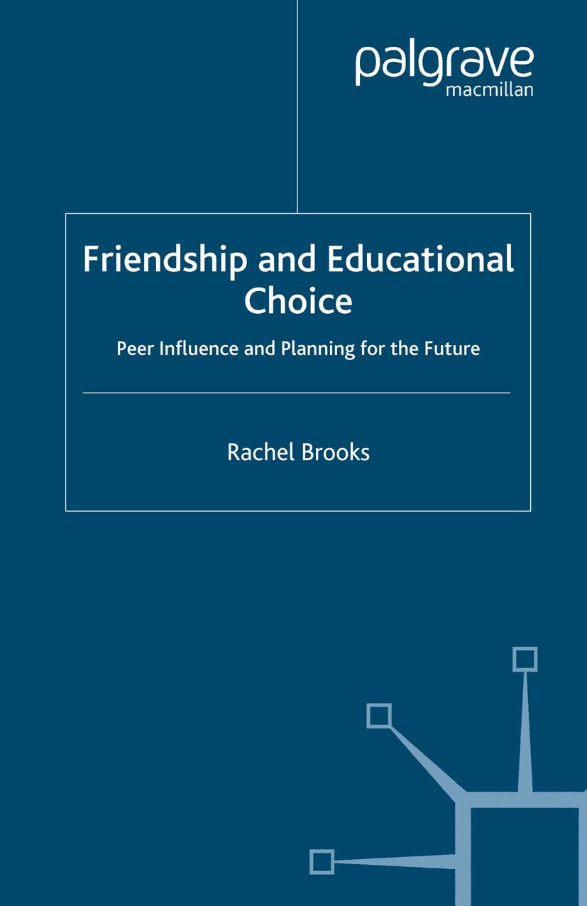 Brooks, Rachel - Friendship and Educational Choice, ebook