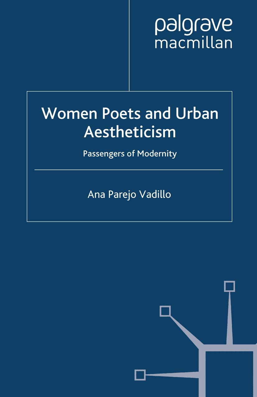 Vadillo, Ana Parejo - Women Poets and Urban Aestheticism, ebook