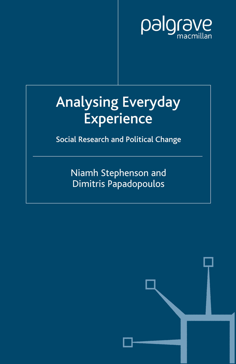Papadopoulos, Dimitris - Analysing Everyday Experience, e-kirja