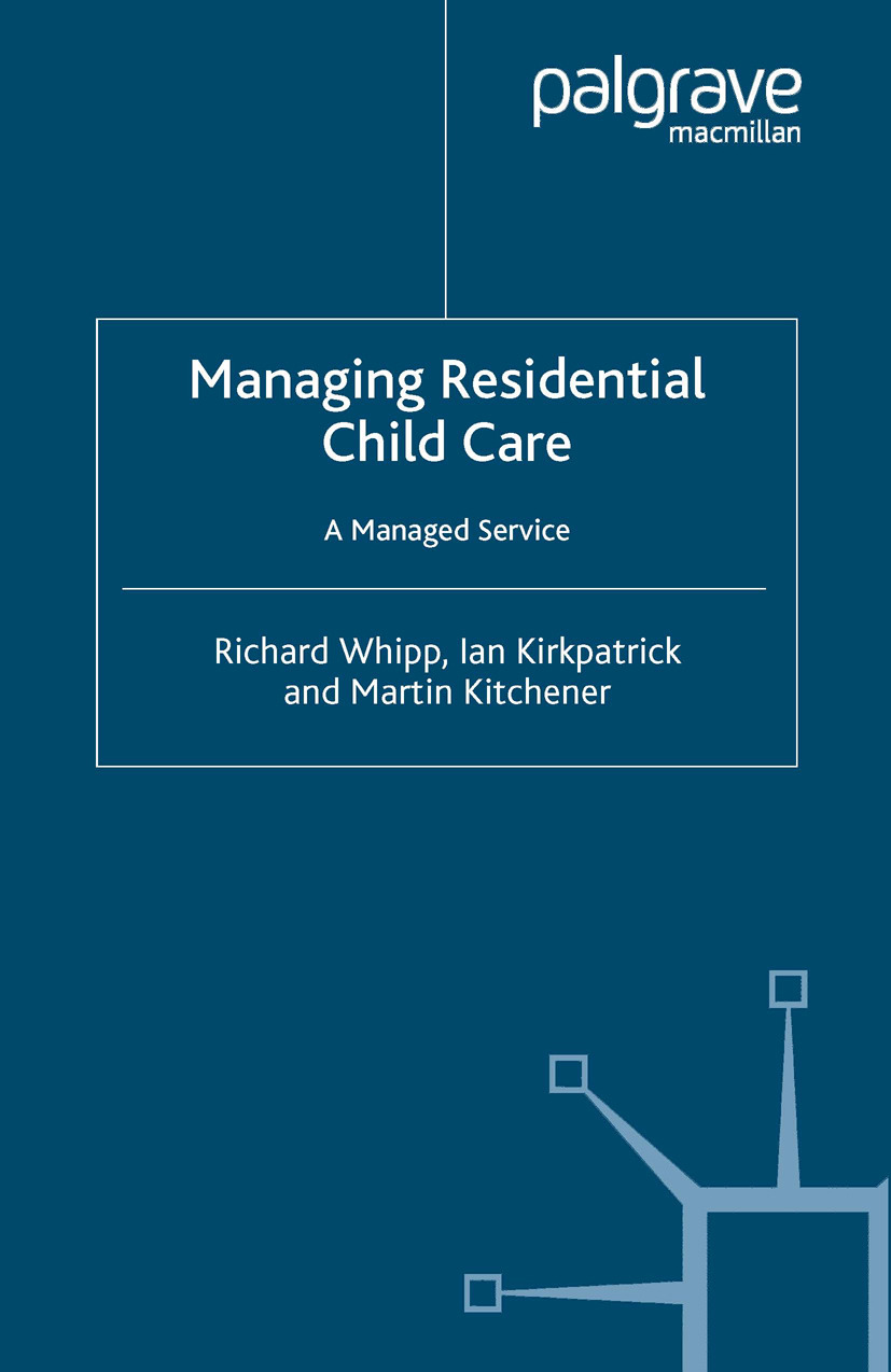 Kirkpatrick, Ian - Managing Residential Child Care, ebook