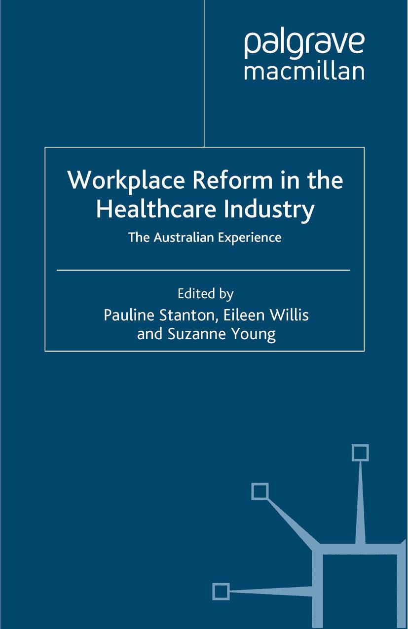 Stanton, Pauline - Workplace Reform in the Healthcare Industry, ebook
