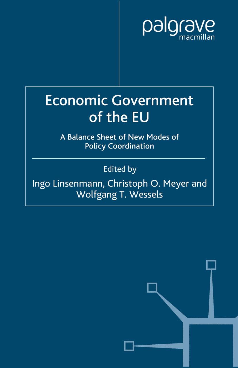 Linsenmann, Ingo - Economic Government of the EU, ebook