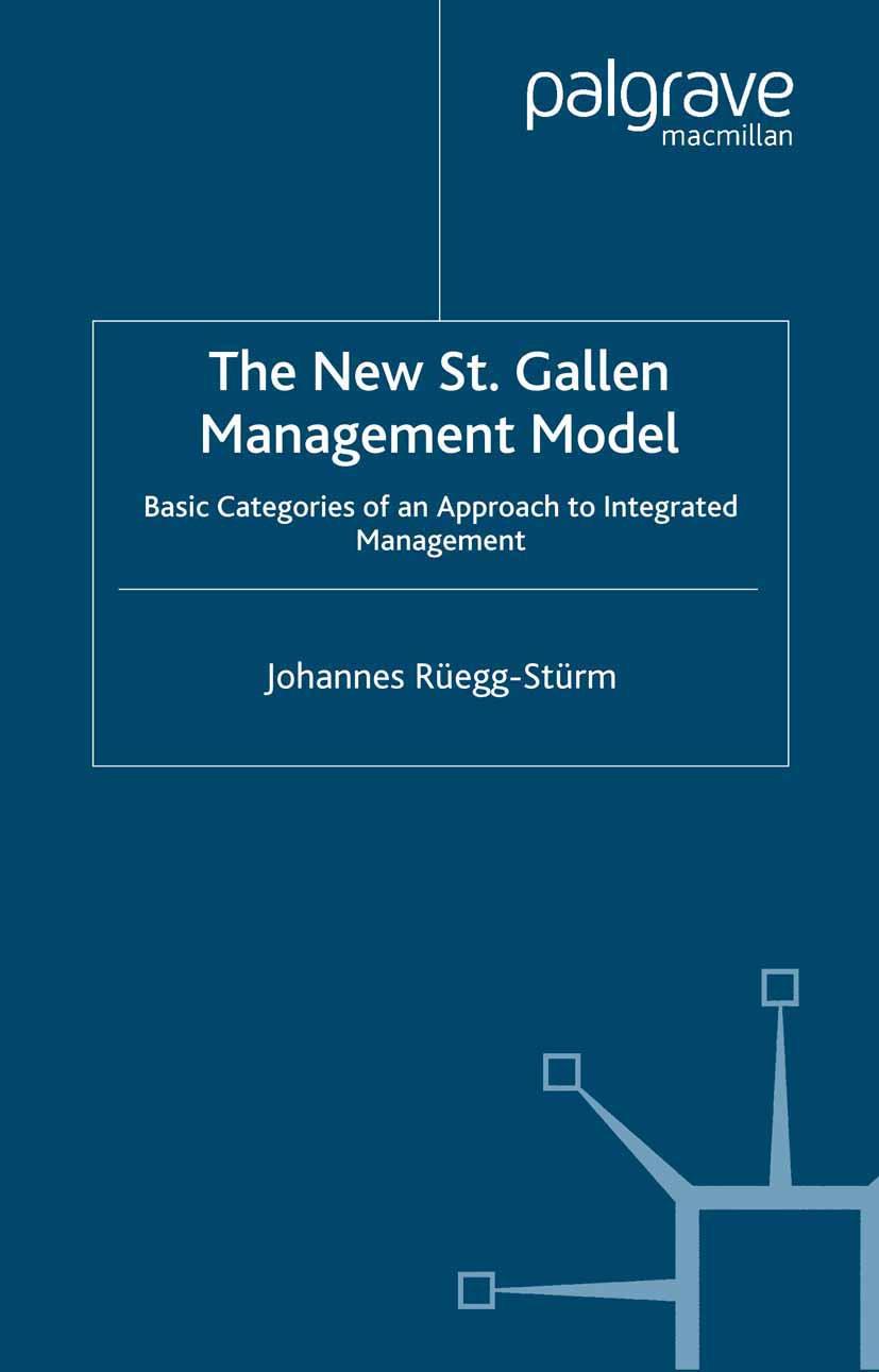 Rüegg-Stürm, Johannes - The New St. Gallen Management Model, ebook