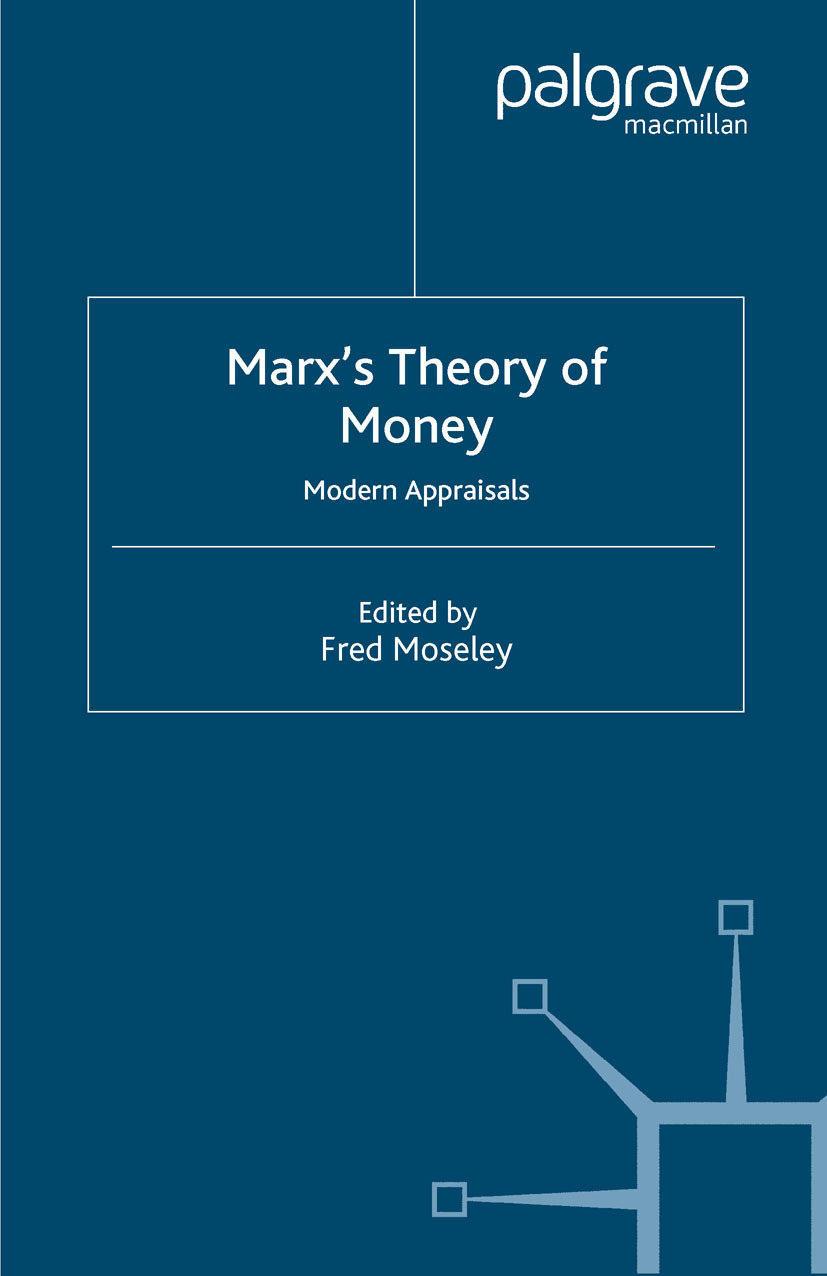 Moseley, Fred - Marx's Theory of Money, ebook