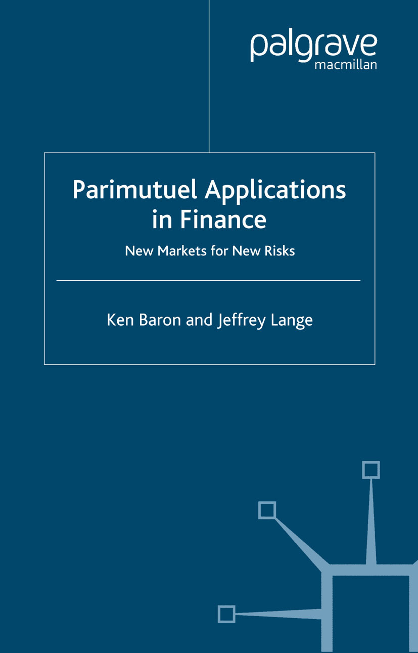 Baron, Ken - Parimutuel Applications in Finance, ebook