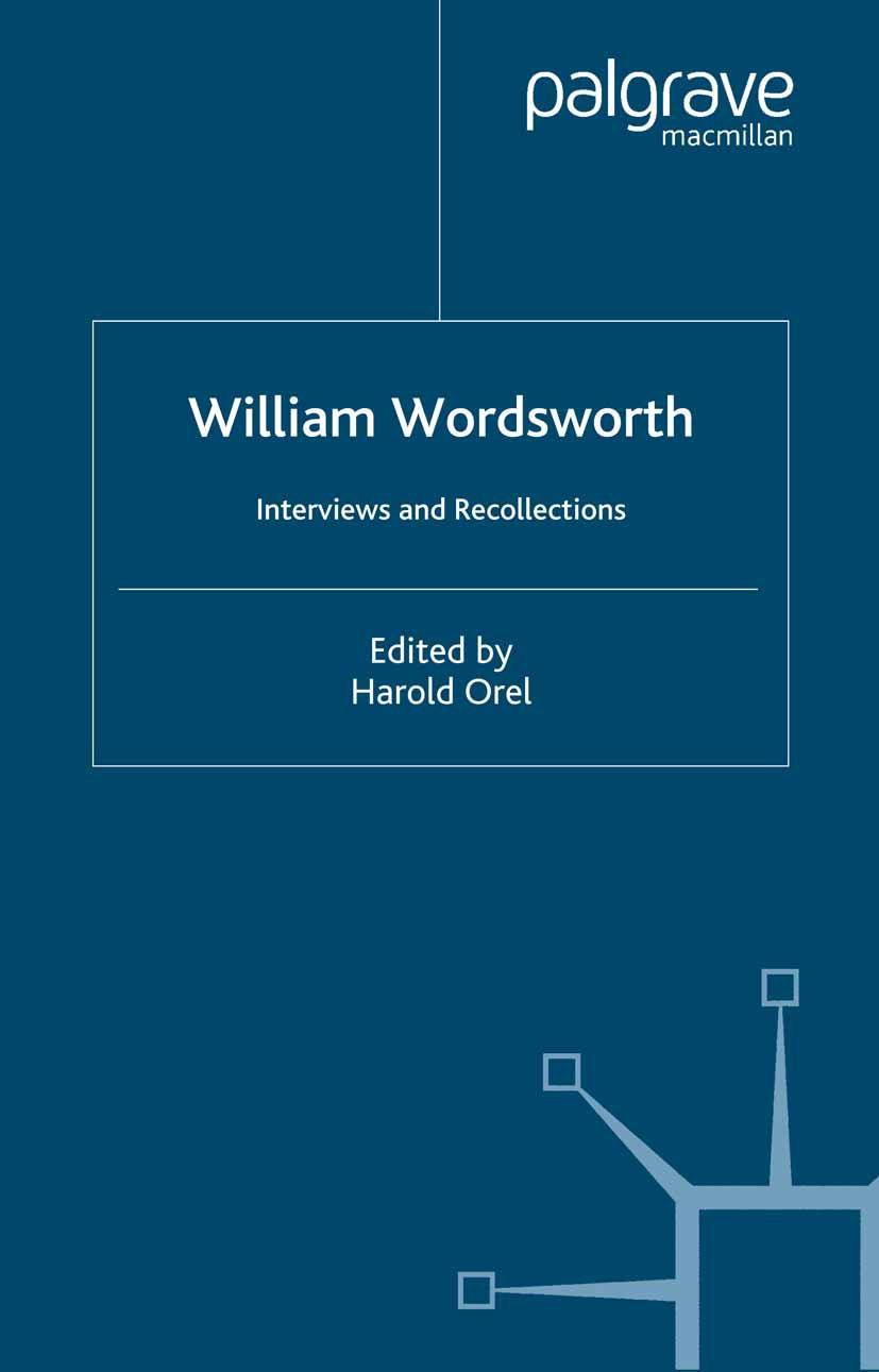 Orel, Harold - William Wordsworth, ebook