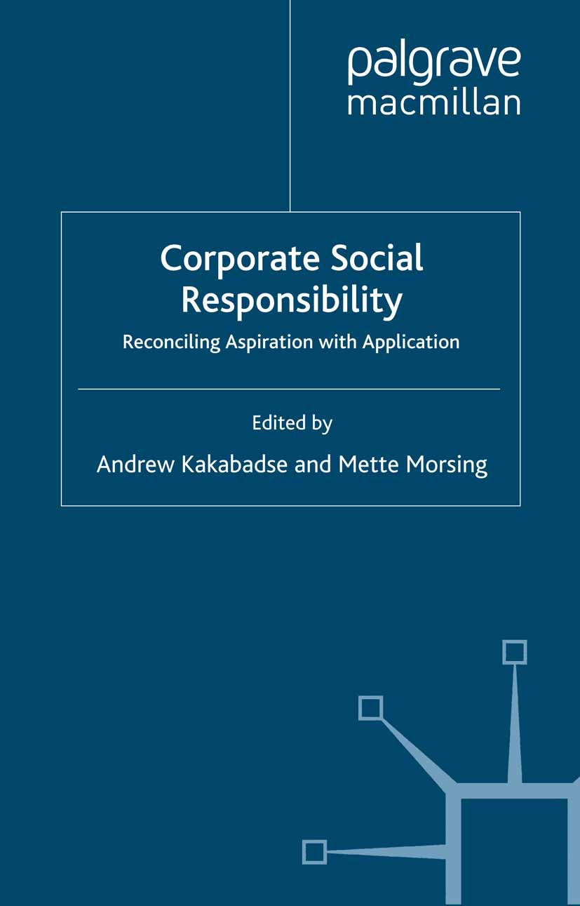 Kakabadse, Andrew - Corporate Social Responsibility, e-bok