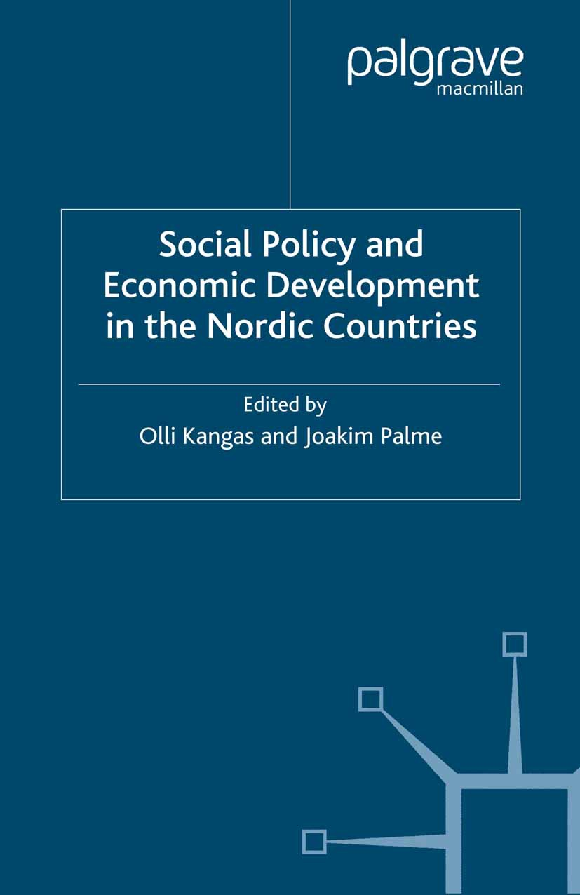 Kangas, Olli - Social Policy and Economic Development in the Nordic Countries, ebook