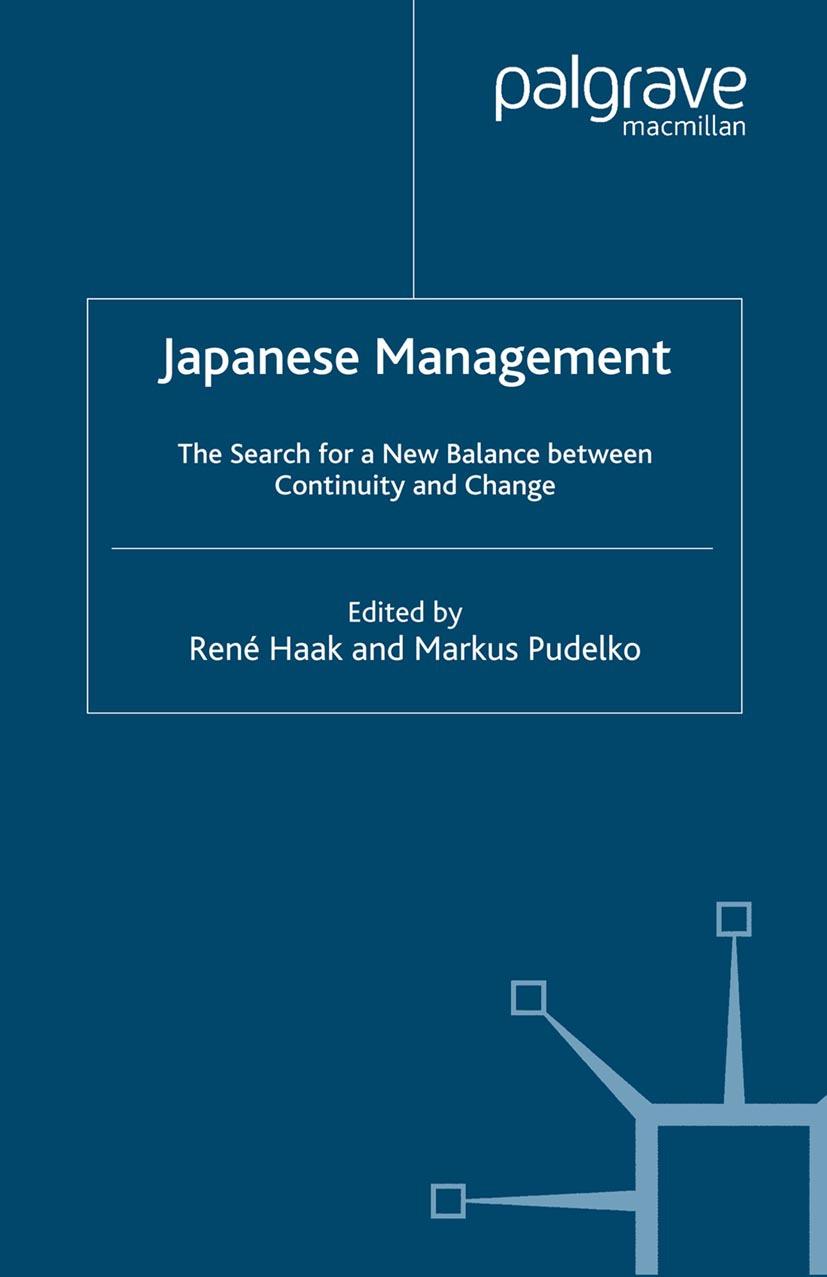 Haak, René - Japanese Management, ebook
