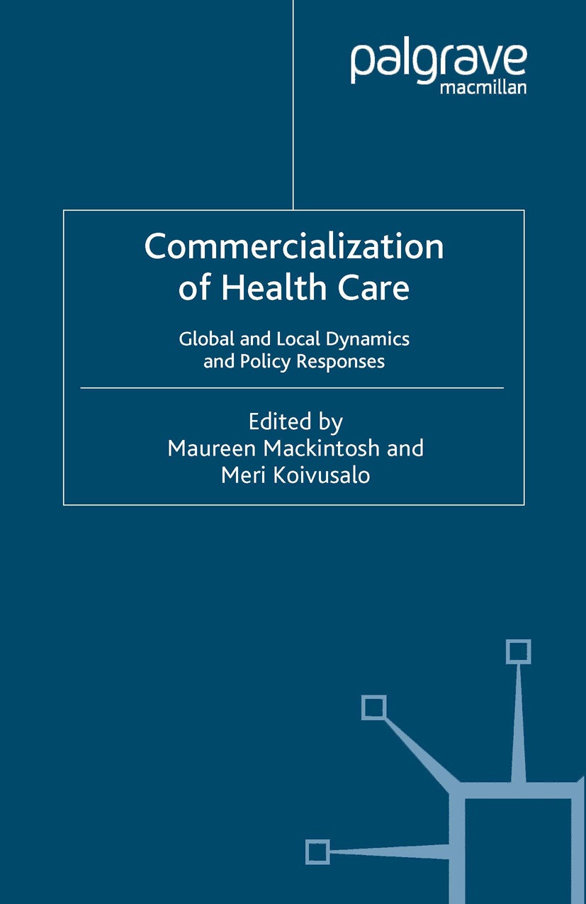 Koivusalo, Meri - Commercialization of Health Care, ebook